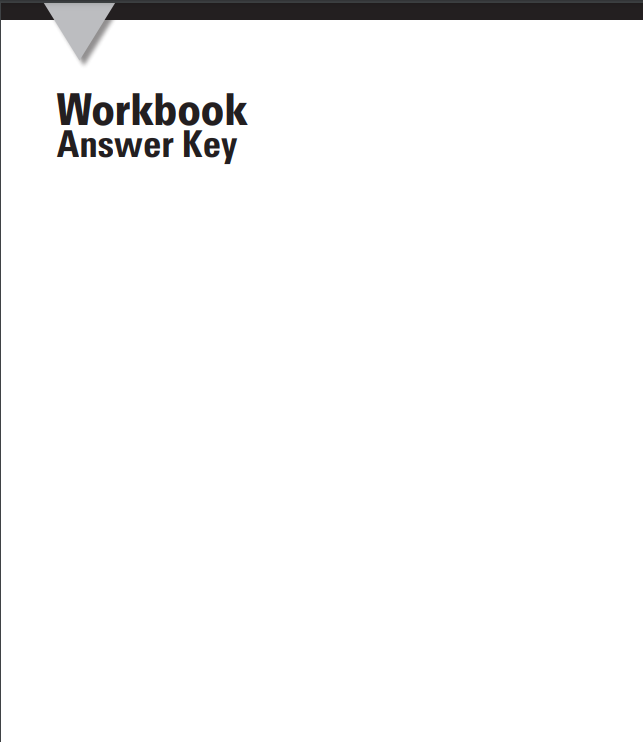 advantage 2 workbook answer key