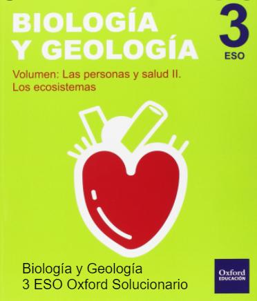 Solucionario Biologia y Geologia 3 ESO Oxford Inicia Dual PDF