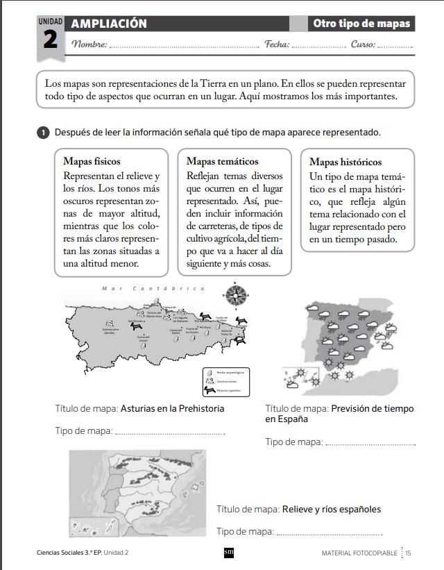 Ciencias Sociales 3 Primaria SM SAVIA Material Fotocopiable