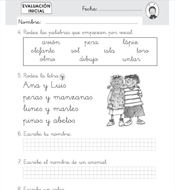 Evaluaciones Lengua 1 Primaria SM SAVIA PDF