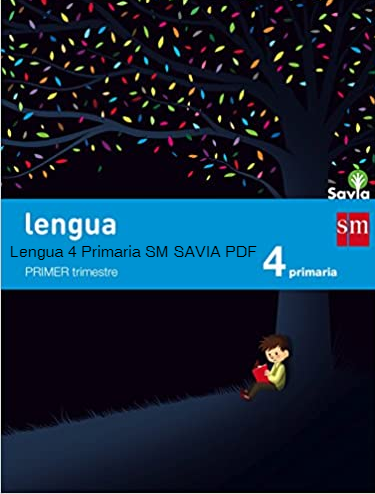 Solucionario Lengua 4 Primaria SM SAVIA PDF