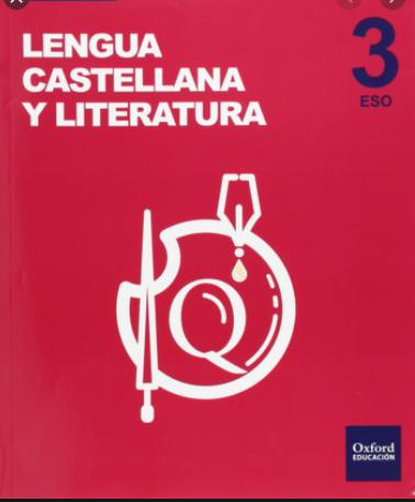 Lengua Castellana y Literatura 3 ESO Oxford Ejercicios Resueltos