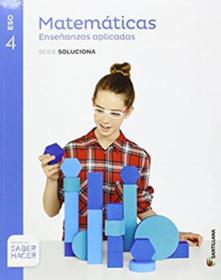 Libro Matematicas Aplicadas 4 ESO Santillana PDF
