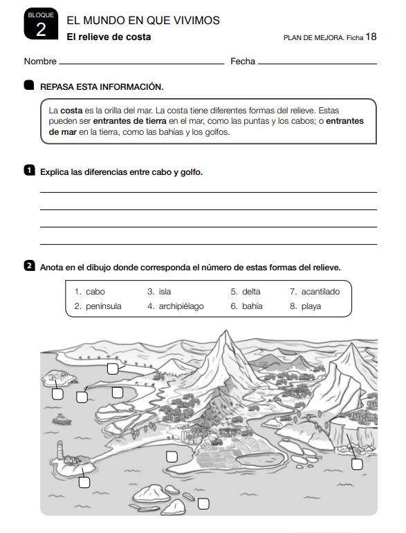 Refuerzo y Ampliacion Ciencias Sociales 3 Primaria Santillana PDF