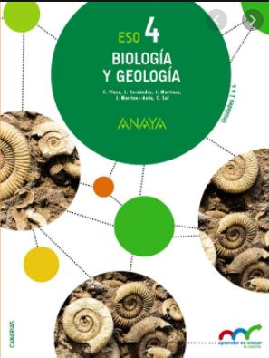 Solucionario Biologia y Geologia 4 ESO Anaya