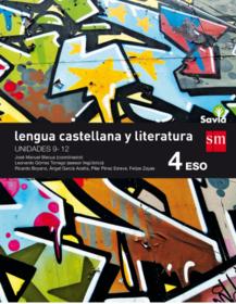 Solucionario Lengua Castellana y Literatura 4 ESO SM SAVIA PDF