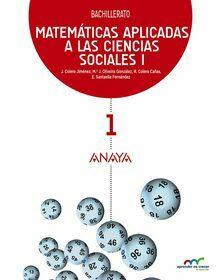 Solucionario Matematicas 1 Bachillerato Anaya Ciencias Sociales