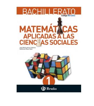 Solucionario Matematicas 1 Bachillerato Bruño Aplicadas a las Ciencias Sociales