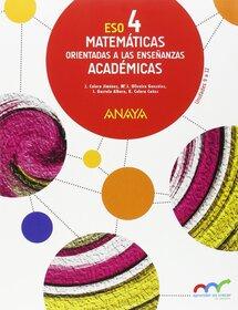 Solucionario Matematicas Academicas 4 ESO Anaya