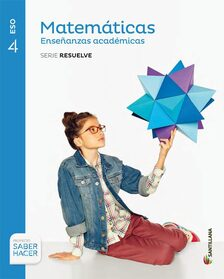 Solucionario Matematicas Academicas 4 ESO Santillana