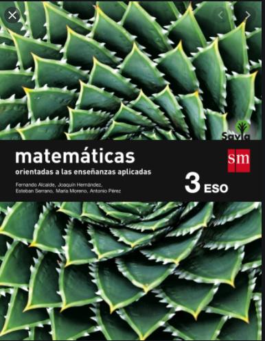 Solucionario Matematicas Aplicadas 3 ESO SM SAVIA PDF