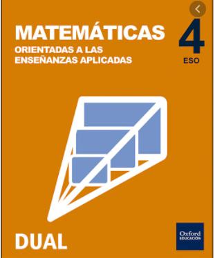 Solucionario Matematicas Aplicadas 4 ESO Oxford Inicia Dual