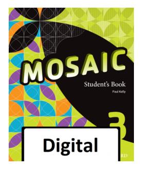 Solucionario Student's Book 3 ESO Oxford Mosaic