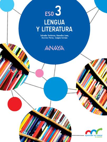 Soluciones Lengua y Literatura 3 ESO Anaya
